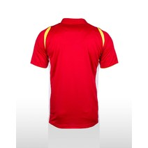 Liverpool FC Mens Supporter Polo - Red/White/Gold