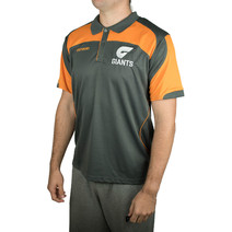 AFL Mens Premium Polo Great West Syd Giants