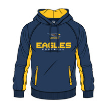 AFL Mens SHD Premium Hood West Coast Eagles