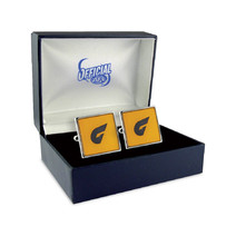 GWS Giants Official AFL Coloured Cufflinks