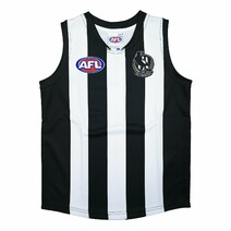 Collingwood Magpies Official AFL Replica Adults Home Guernsey