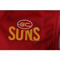 Gold Coast Suns Official AFL Replica Adults Home Guernsey