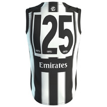 Collingwood Magpies 125 Year Mens Anniversary Guernsey