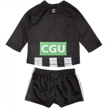 Collingwood Magpies AFL 2018 Toddler Home Guernsey