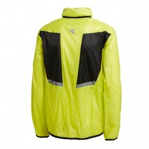 Diadora Cycling Jacket Lightweight And Waterproof - Fluro Yellow