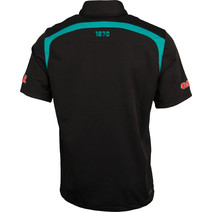 Port Adelaide Power Media Polo BLK/TEAL