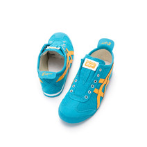 Asics Onitsuka Tiger Mexico 66 Slip On Casual Shoes Mens - Ocean Blue/Orange
