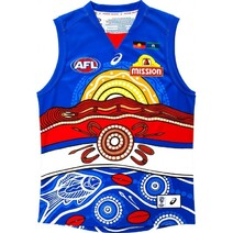 Western Bulldogs 2019 ASICS Mens Indigenous Guernsey