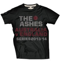 The Ashes 2013/14 Event Tee, Charcoal, Series 2013/14