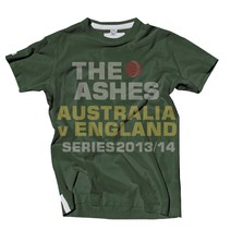 The Ashes 2013/14 Event Tee, Green, Series 2013/14