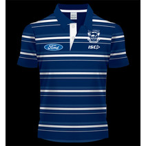 AFL Geelong Cats Media Polo Adults