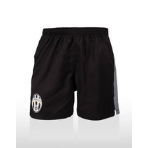 Juventus Kids Supporter Shorts - Black/Gray/White