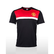 Manchester United Mens Supporter T-Shirt - Black/Red/White