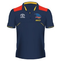 Adelaide Crows 2017 Mens Media Polo