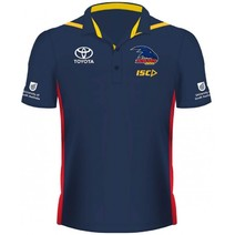 Adelaide Crows 2019 AFL Mens Media Polo