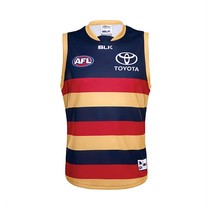 Adelaide Crows BLK 2016 Mens Replica Guernsey Home