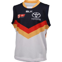 Adelaide Crows BLK 2016 SANFL Replica Guernsey Junior