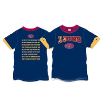 AFL Brisbane Lions Youth Team Song Tee