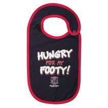AFL Melbourne Demons Babies Hungry Bib Set