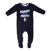 AFL Carlton Blues Babies Hungry Romper