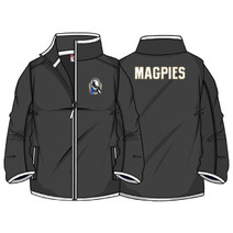 AFL Collingwood Magpies Mens Full Zip Fleece