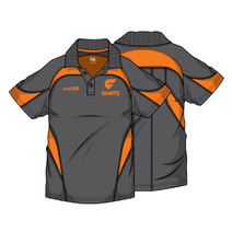 AFL Mens Premium Polo GWS Giants