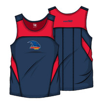 AFL Mens Premium Singlet Adelaide Crows