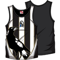 AFL Mens SHD Singlet Collingwood Magpies