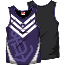 AFL Mens SHD Singlet Fremantle Dockers