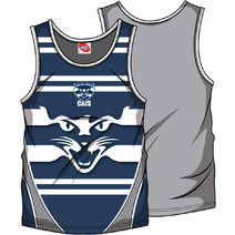 AFL Mens SHD Singlet Geelong Cats