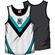AFL Mens SHD Singlet Port Adelaide Power
