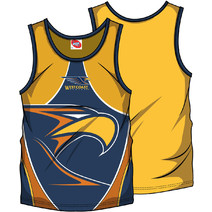 AFL Mens SHD Singlet West Coast Eagles