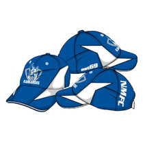 AFL North Melbourne Kangaroos Mens Premium Cap