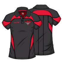AFL Essendon Bombers Ladies Premium Polo