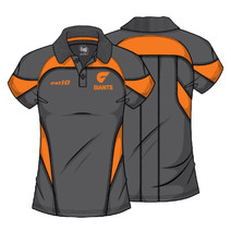 AFL GWS Giants Ladies Premium Polo