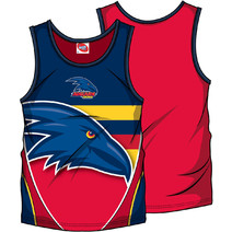 AFL Youth SHD Singlet Adelaide Crows