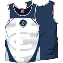 AFL Youth SHD Singlet Carlton Blues