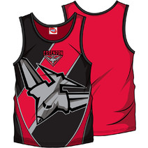 AFL Youth SHD Singlet Essendon Bombers