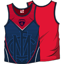 AFL Youth SHD Singlet Melbourne Demons