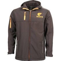 Greater Western Sydney Giants Mens Premium Soft Shell Jacket