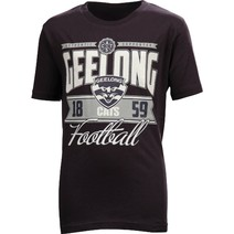 Geelong Cats Youth Printed Tee Shirt