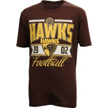 Hawthorn Hawks Youth Printed Tee Shirt
