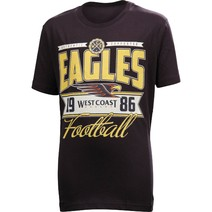 West Coast Eagles Youth Printed Tee Shirt
