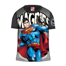 Collingwood Magpies Youth Sub Superman Tee Shirt