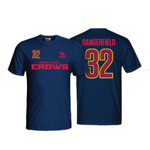Adelaide Crows Mens Number Player Tee Shirt