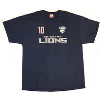 Brisbane Lions Mens Number Player Tee Shirt