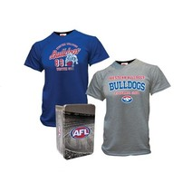 Western Bulldogs 2014 Summer Mens 2 Tees in a Tin