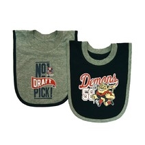 AFL Baby 2 Piece Bib Pack Melbourne Demons