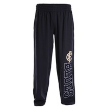 AFL Mens Supporter Track Pant Carlton Blues
