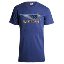 AFL Youth Printed Logo Tee West Coast Eagles